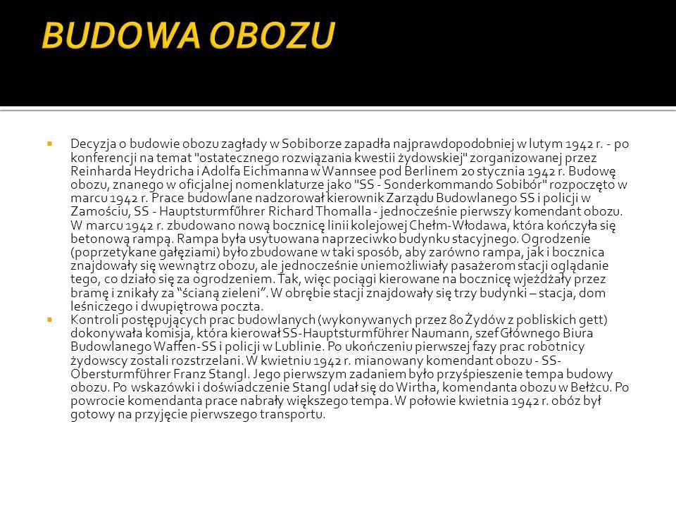 BUDOWA OBOZU