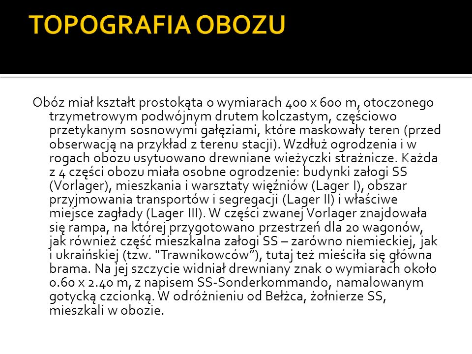 TOPOGRAFIA OBOZU