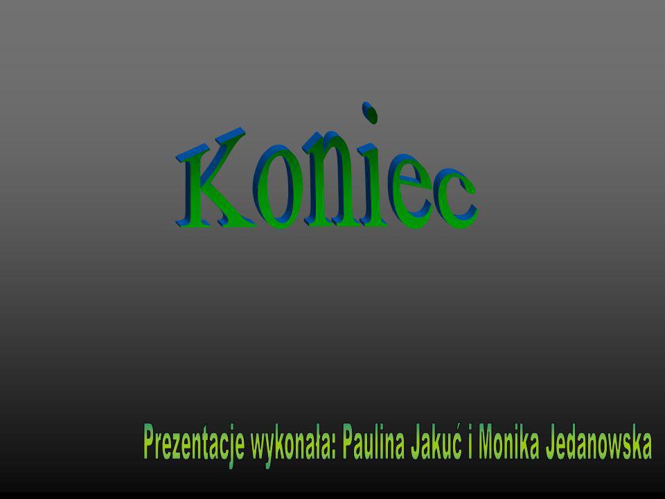 Prezentacje wykonała: Paulina Jakuć i Monika Jedanowska