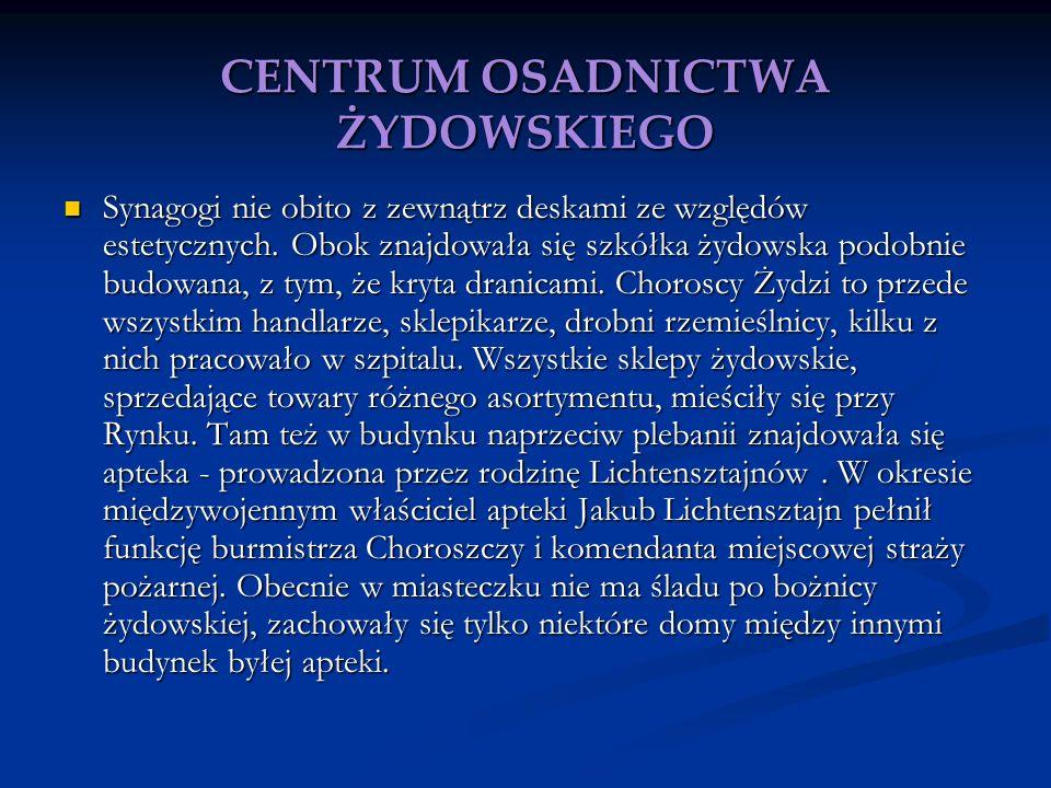 CENTRUM OSADNICTWA ŻYDOWSKIEGO