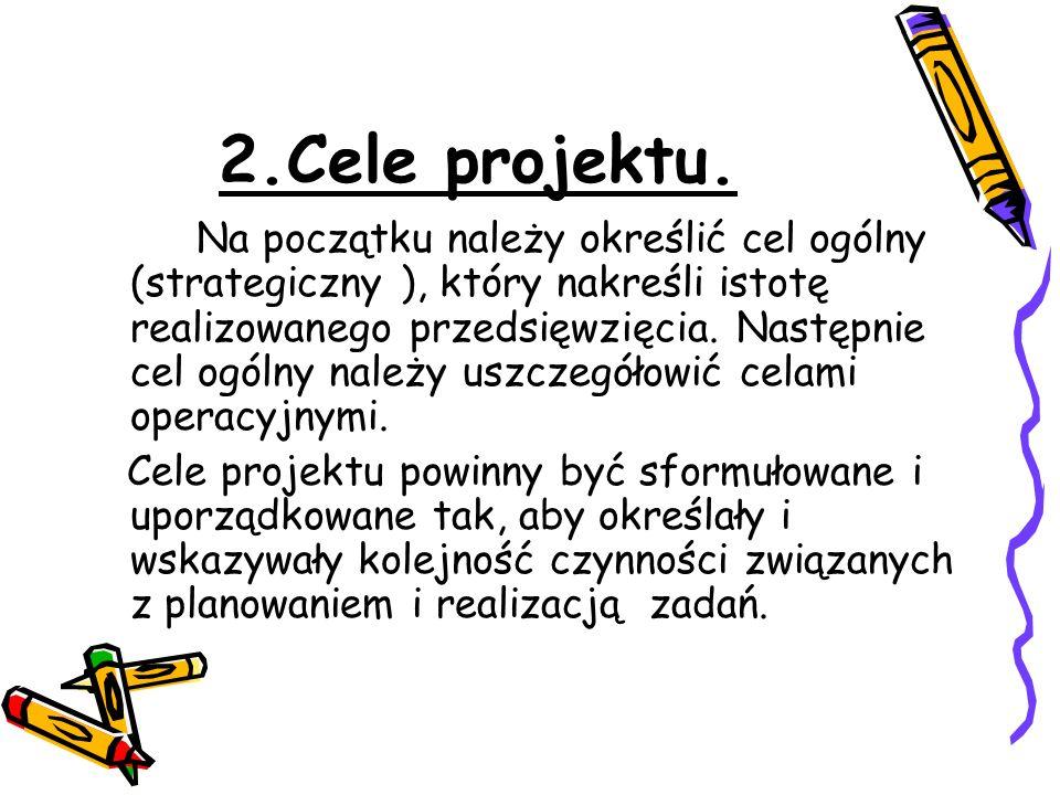 2.Cele projektu.