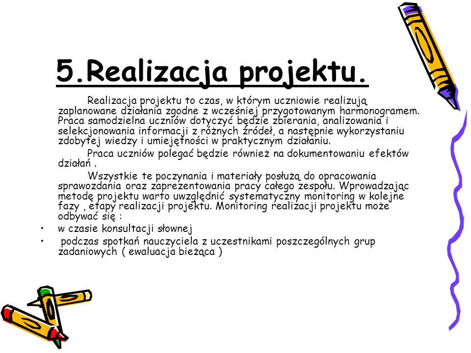 5.Realizacja projektu.