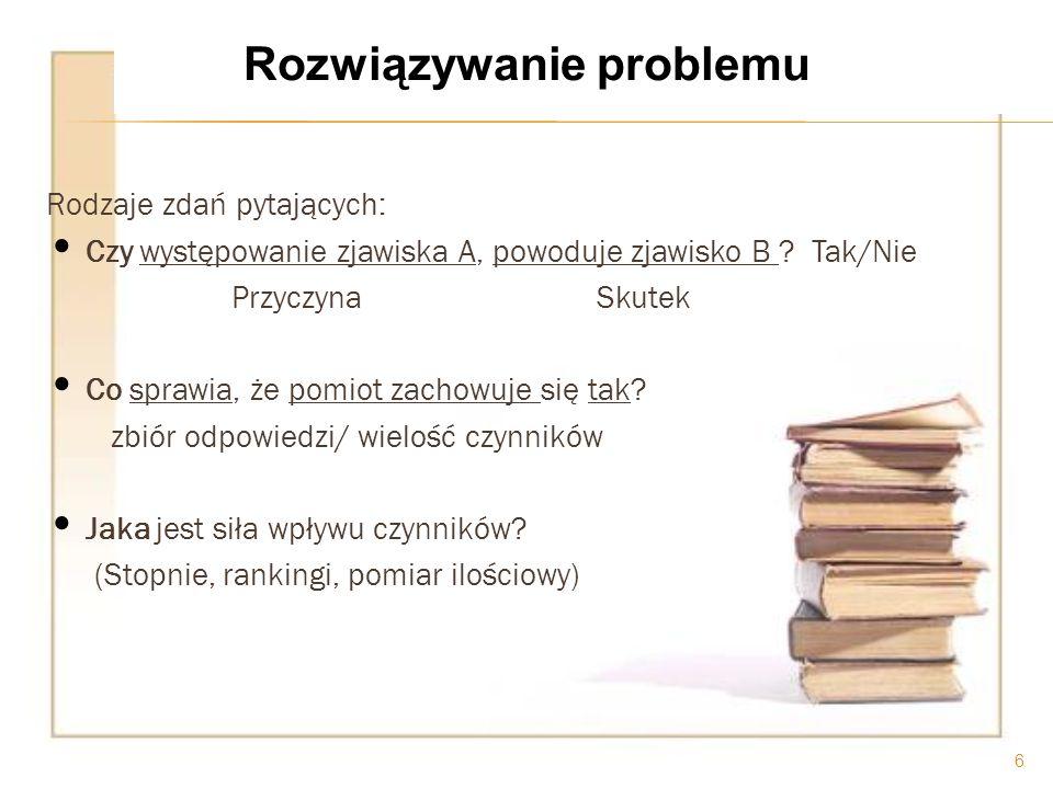 Rozwiązywanie problemu