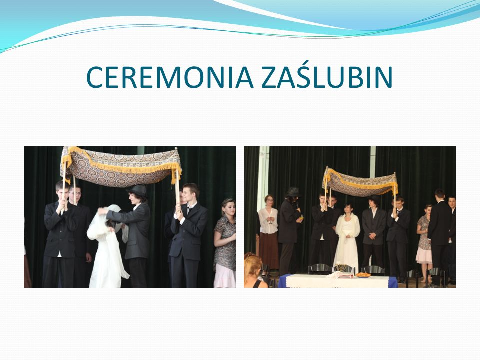 CEREMONIA ZAŚLUBIN