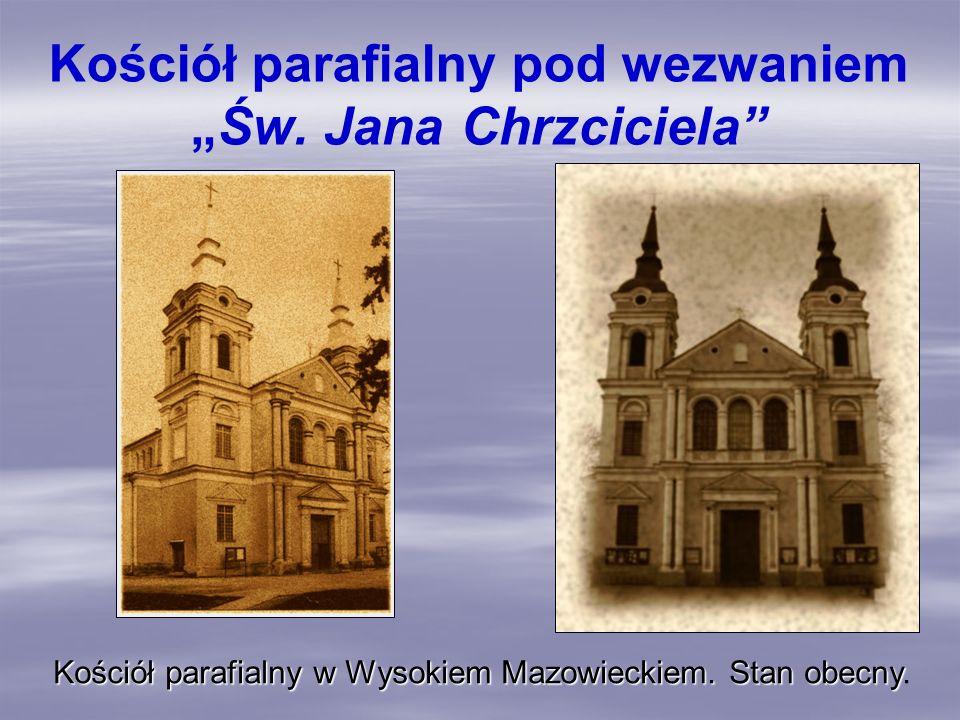 """Kościół parafialny pod wezwaniem """"Św. Jana Chrzciciela"""