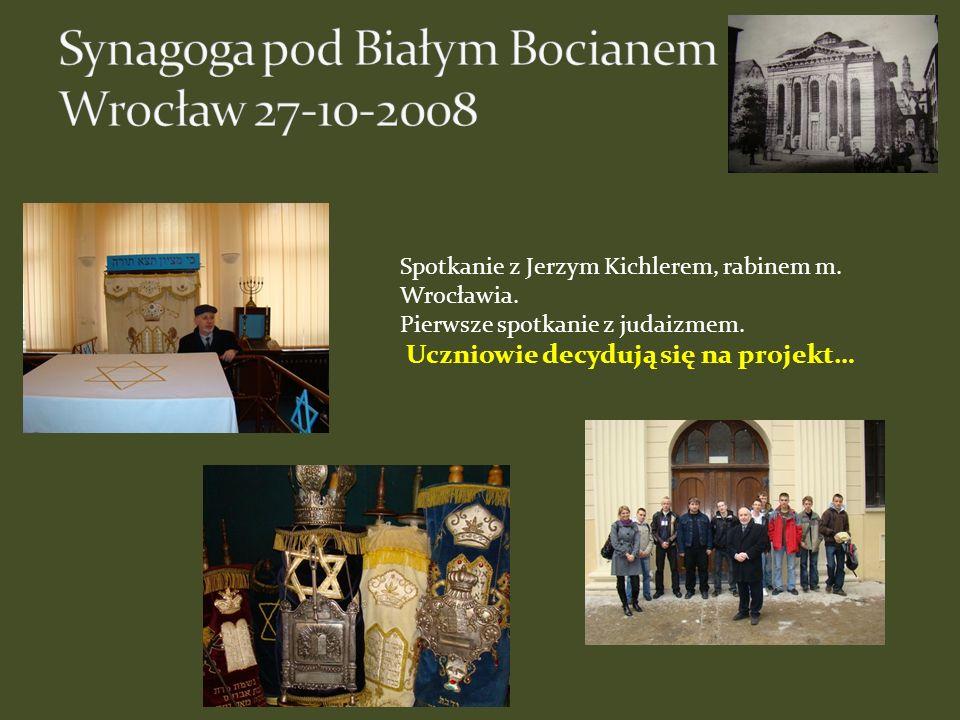 Synagoga pod Białym Bocianem Wrocław 27-10-2008