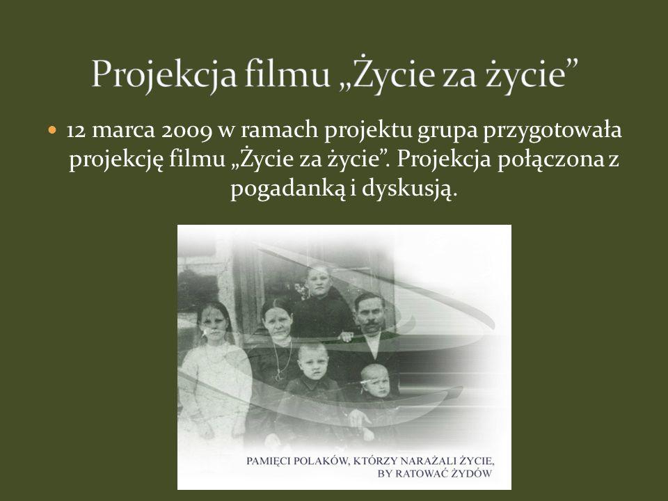 """Projekcja filmu """"Życie za życie"""