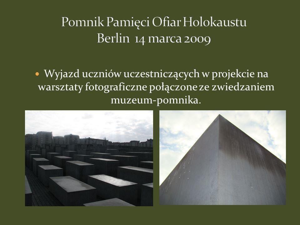 Pomnik Pamięci Ofiar Holokaustu Berlin 14 marca 2009