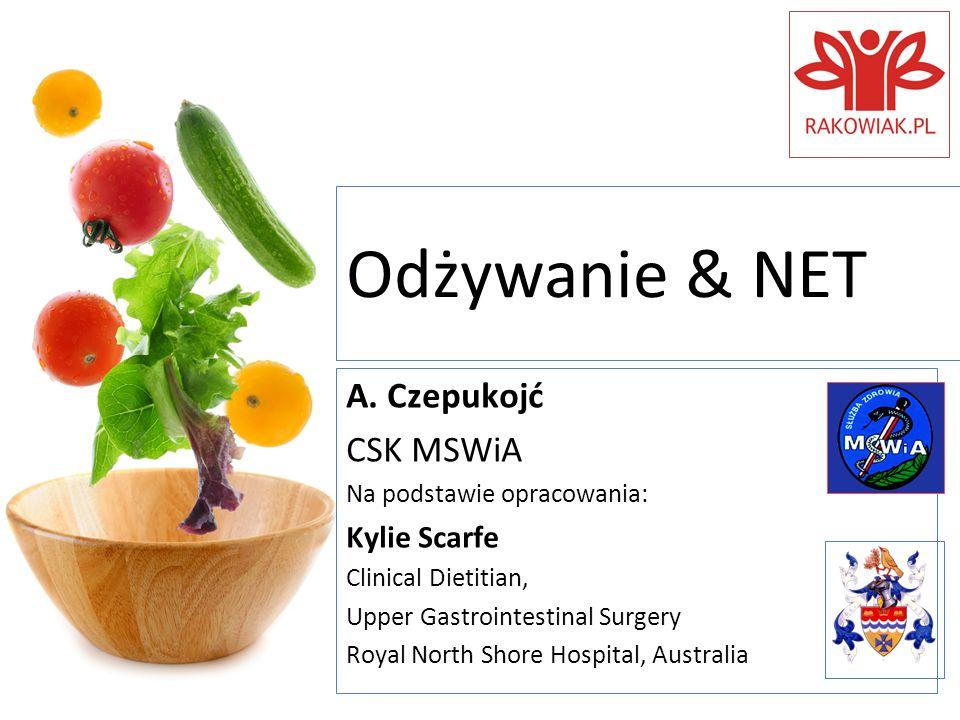 Odżywanie & NET A. Czepukojć CSK MSWiA Kylie Scarfe