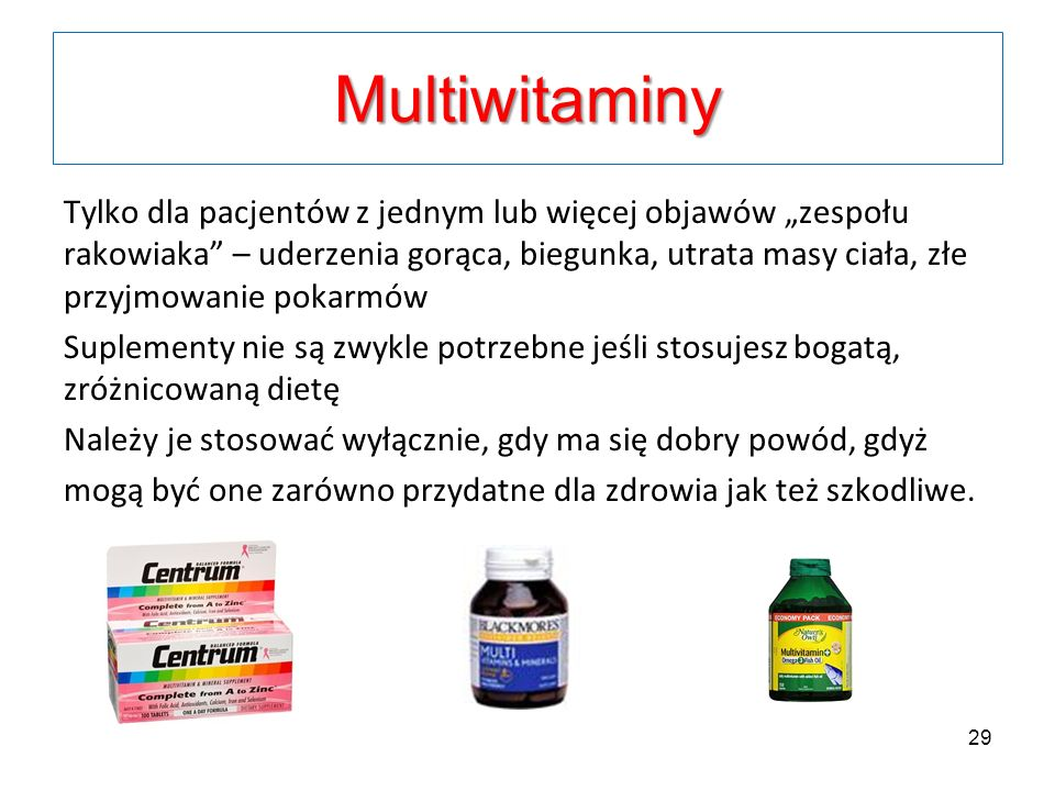 Multiwitaminy
