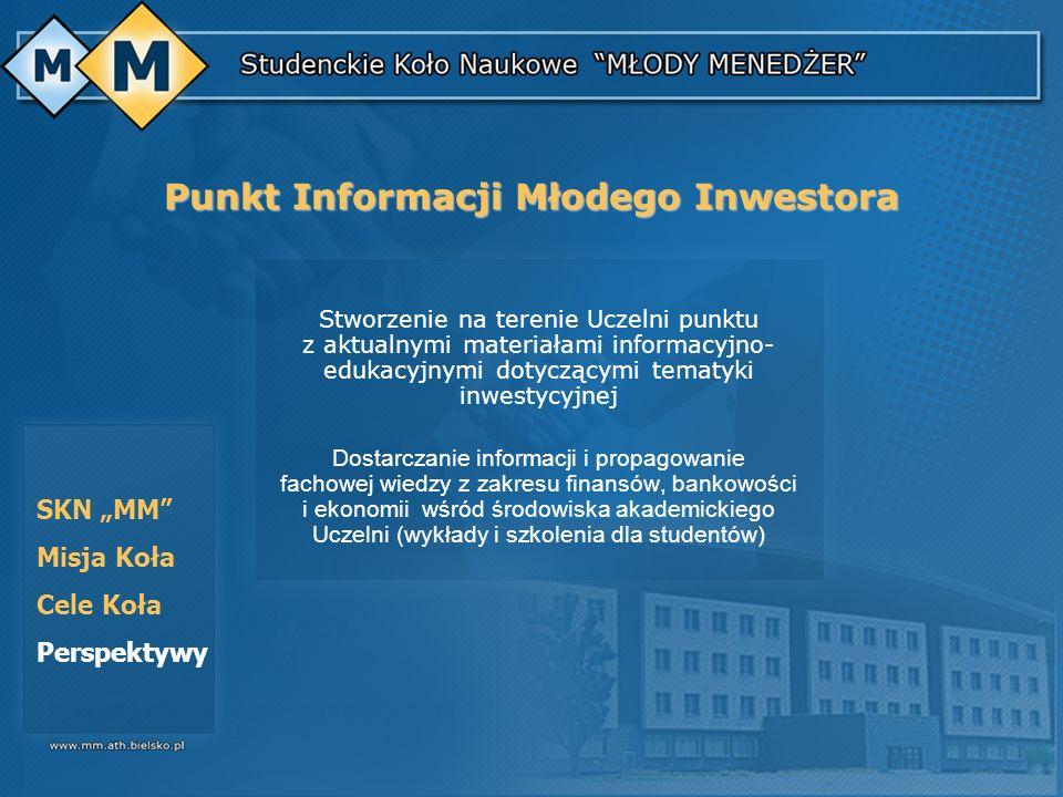 Punkt Informacji Młodego Inwestora