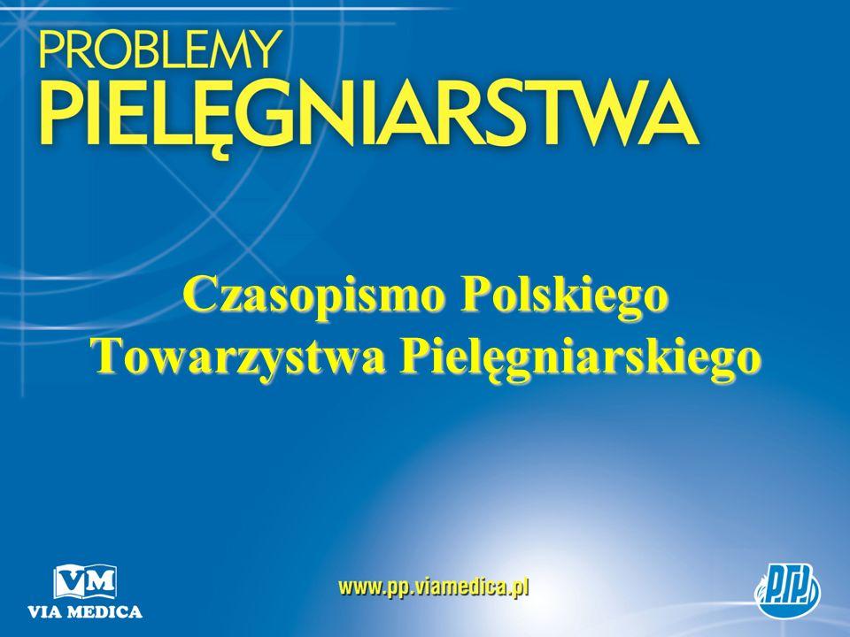 Czasopismo Polskiego Towarzystwa Pielęgniarskiego