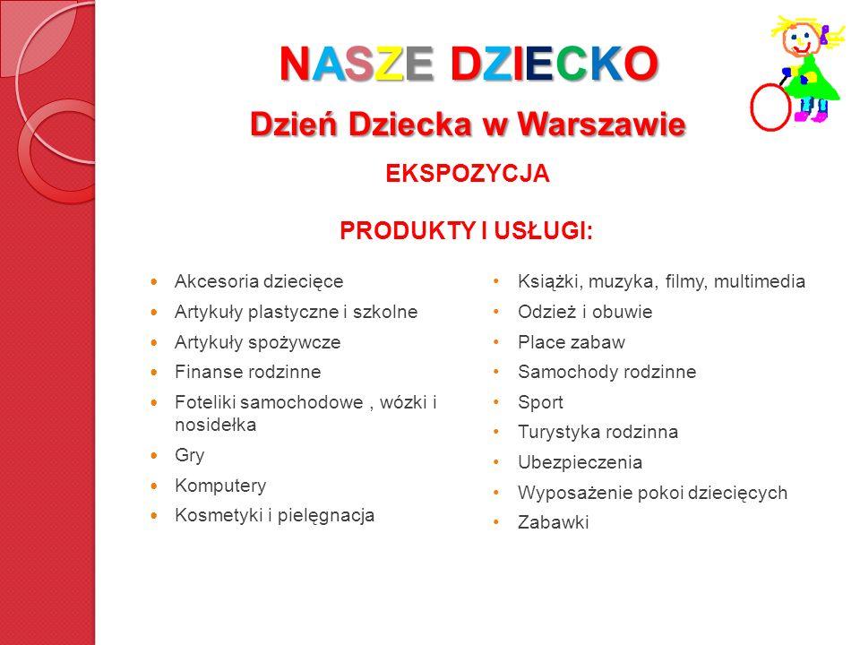 NASZE DZIECKO Dzień Dziecka w Warszawie