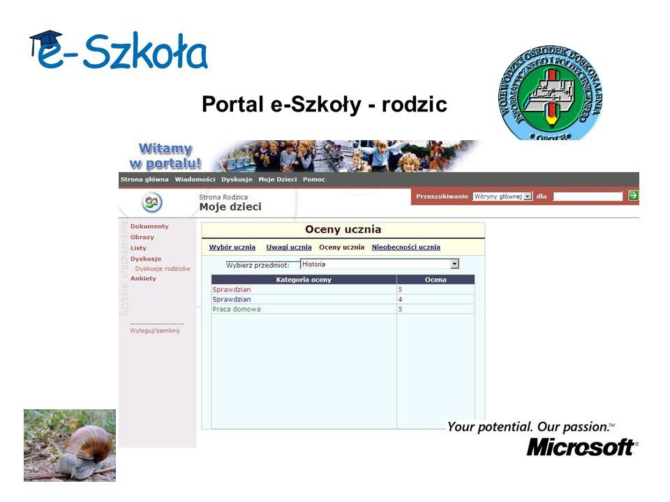 Portal e-Szkoły - rodzic