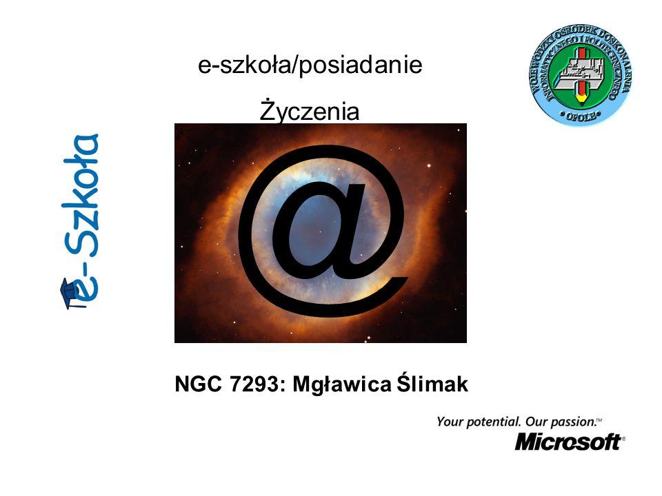 e-szkoła/posiadanie Życzenia @ NGC 7293: Mgławica Ślimak