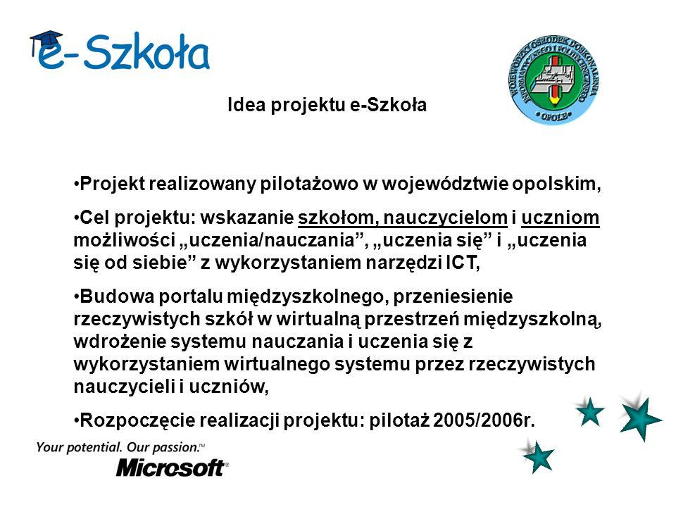 Idea projektu e-Szkoła