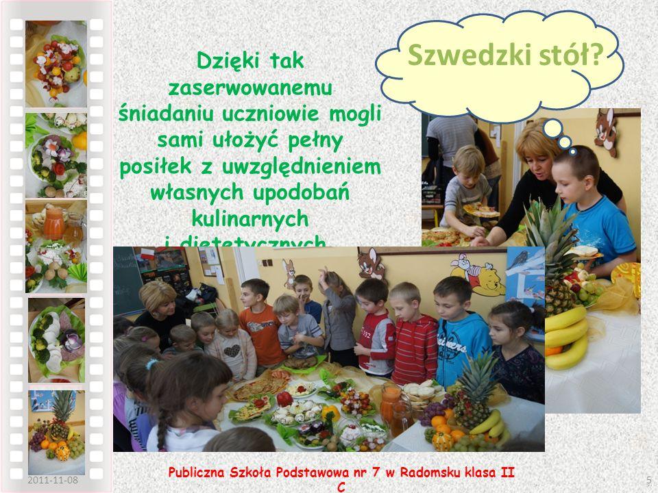 Publiczna Szkoła Podstawowa nr 7 w Radomsku klasa II C