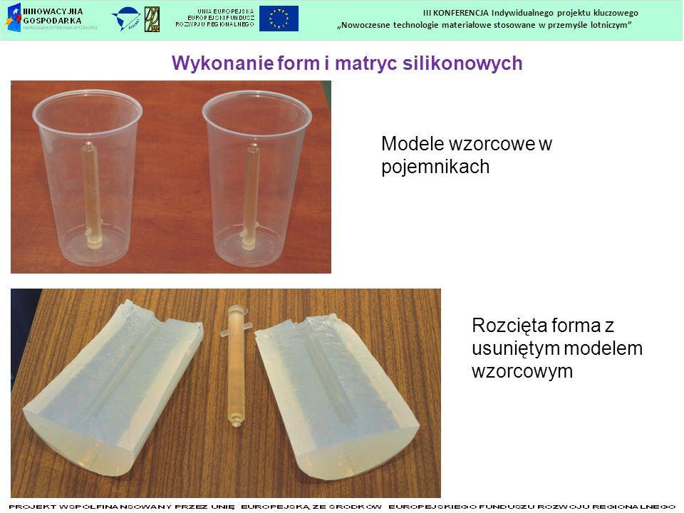 Wykonanie form i matryc silikonowych