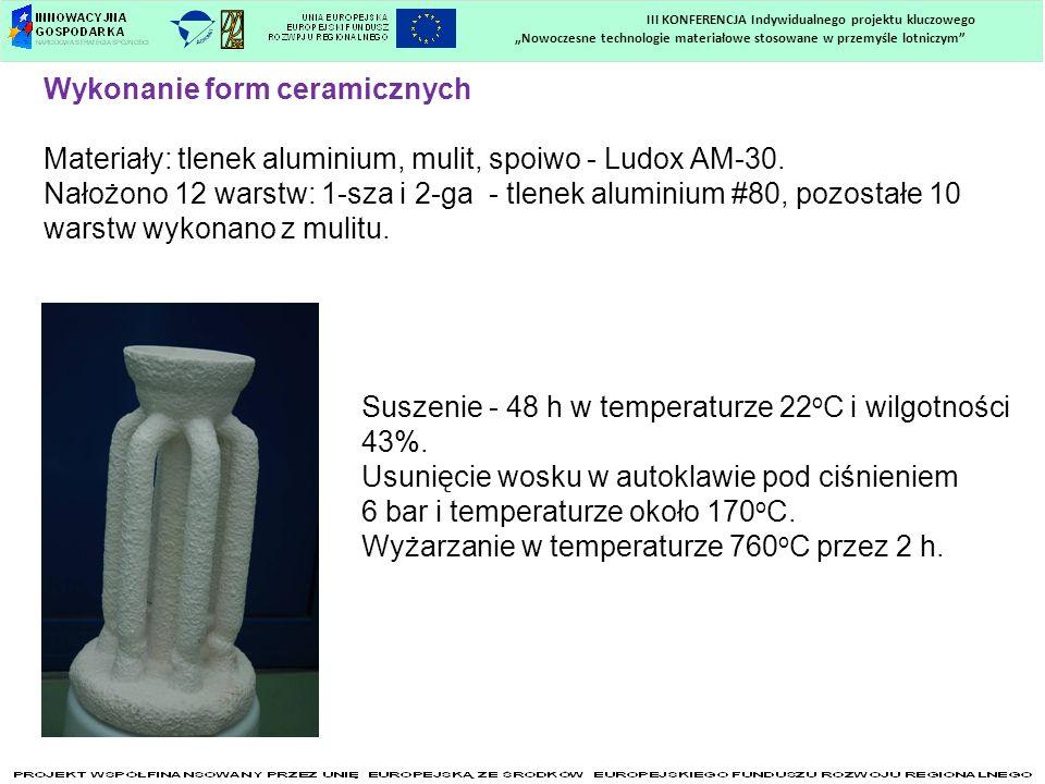Wykonanie form ceramicznych