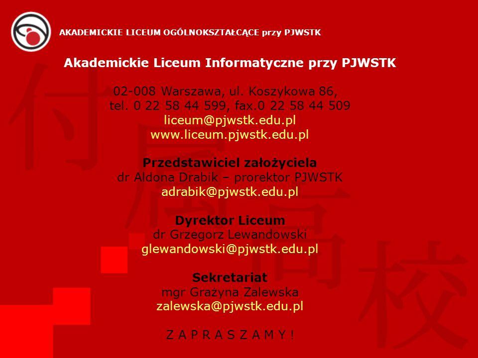 Akademickie Liceum Informatyczne przy PJWSTK