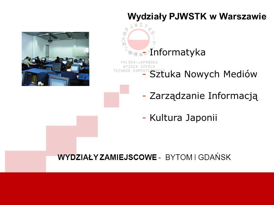 Wydziały PJWSTK w Warszawie