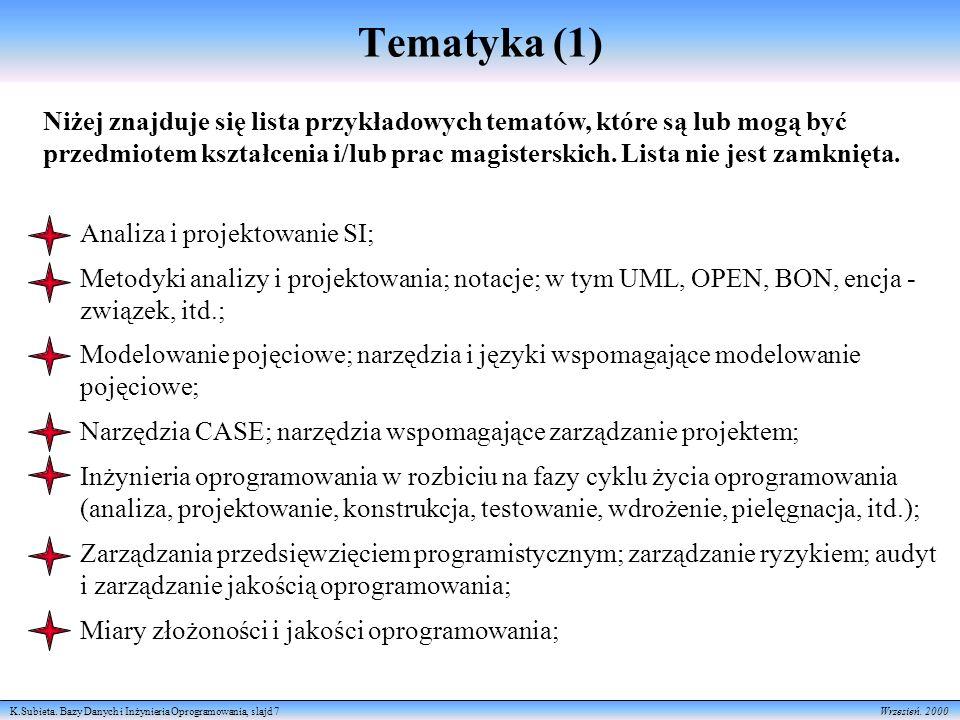 Tematyka (1)
