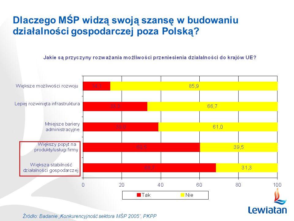 Dlaczego MŚP widzą swoją szansę w budowaniu działalności gospodarczej poza Polską