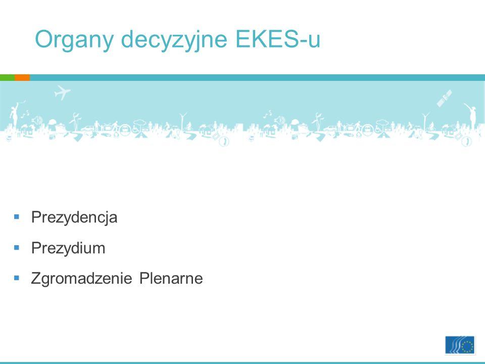 Organy decyzyjne EKES-u