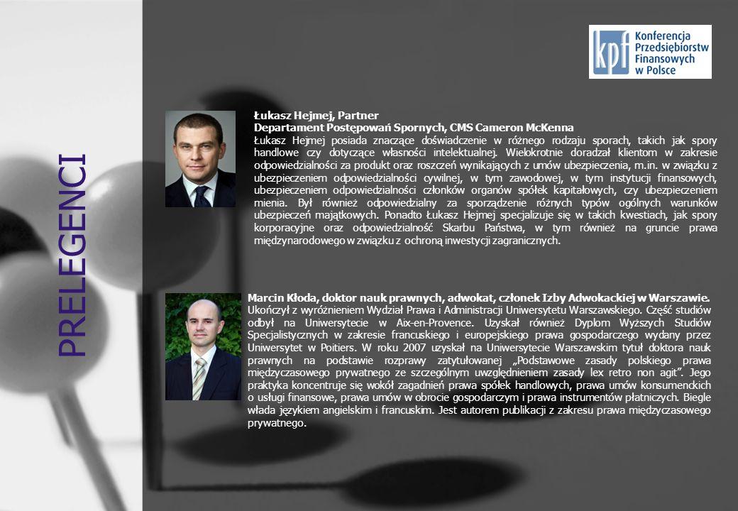 PRELEGENCI Łukasz Hejmej, Partner