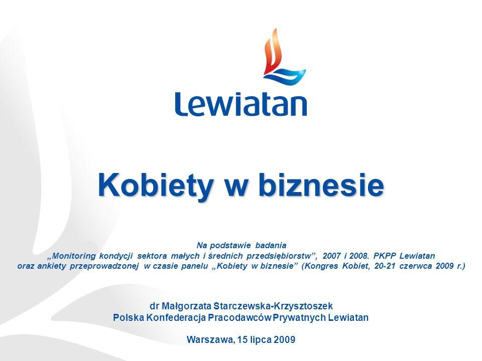 Kobiety w biznesie dr Małgorzata Starczewska-Krzysztoszek