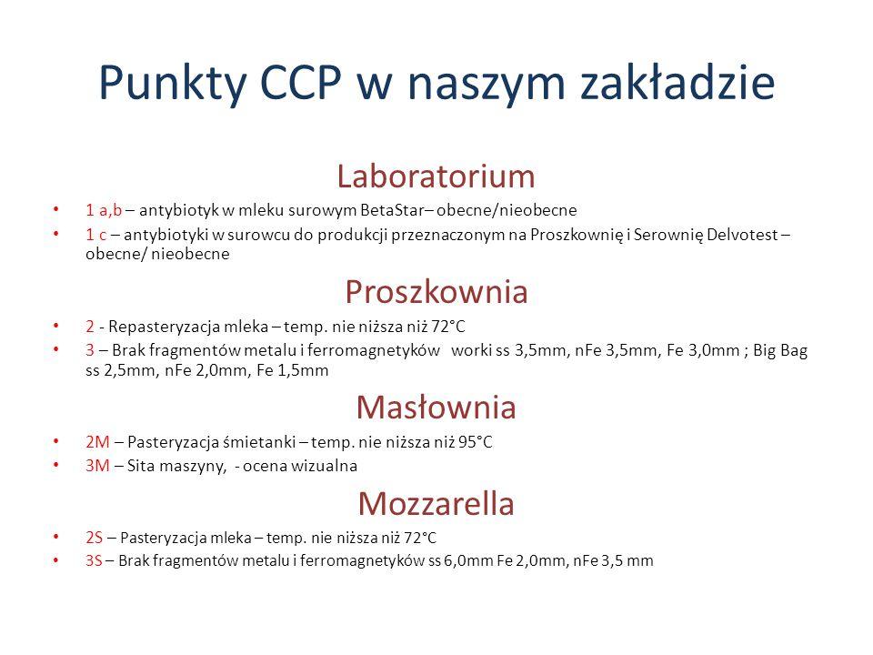 Punkty CCP w naszym zakładzie