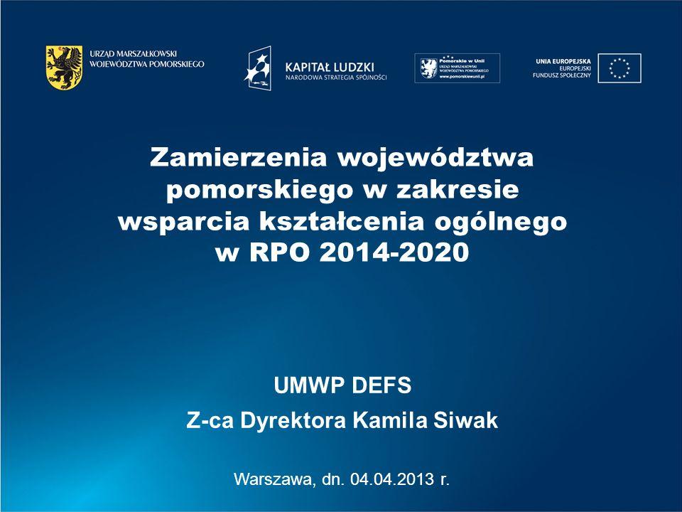 Z-ca Dyrektora Kamila Siwak
