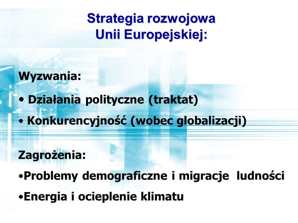 Strategia rozwojowa Unii Europejskiej: