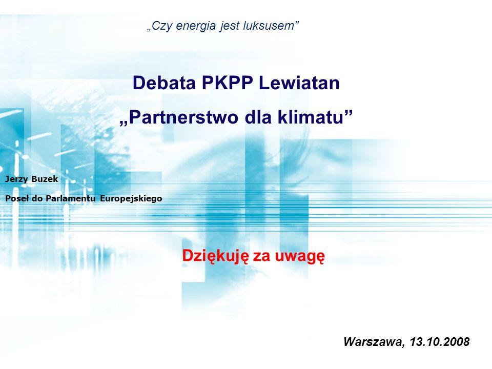 """""""Partnerstwo dla klimatu"""
