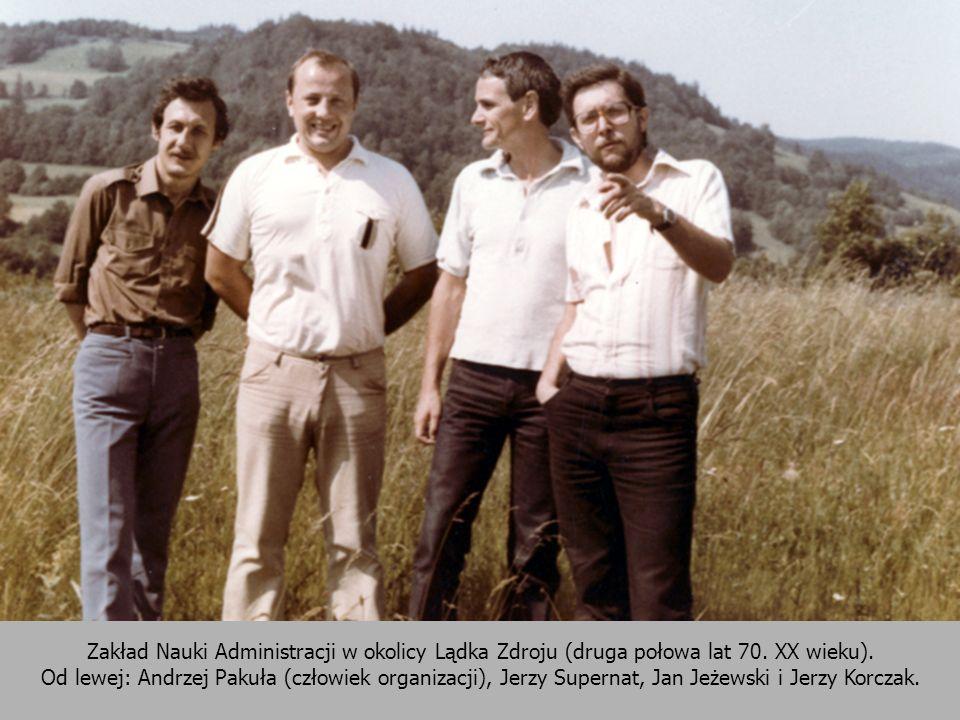 Zakład Nauki Administracji w okolicy Lądka Zdroju (druga połowa lat 70