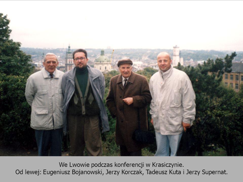 We Lwowie podczas konferencji w Krasiczynie.