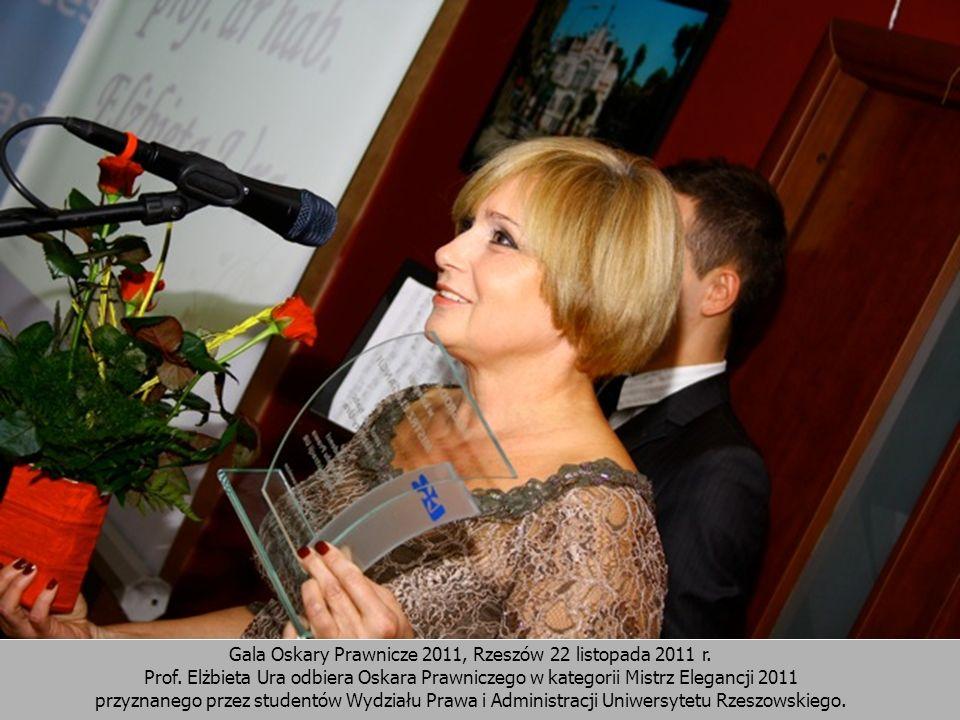 Gala Oskary Prawnicze 2011, Rzeszów 22 listopada 2011 r.