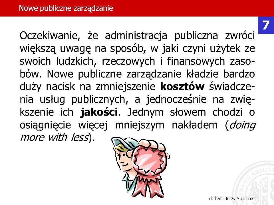 Nowe publiczne zarządzanie