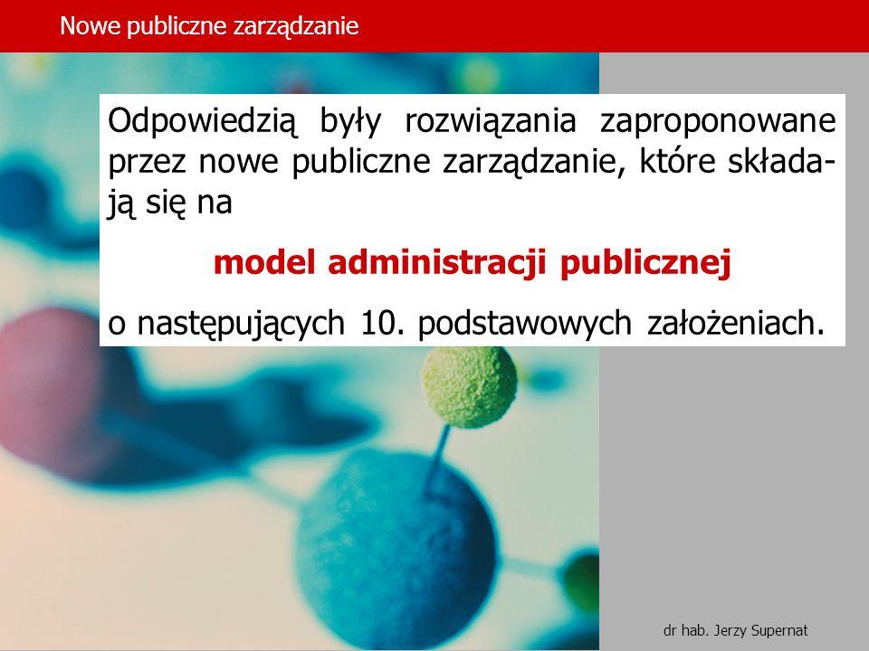 model administracji publicznej