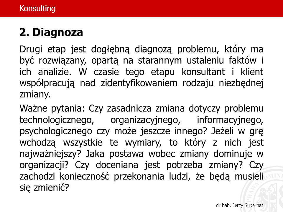 Konsulting 2. Diagnoza.