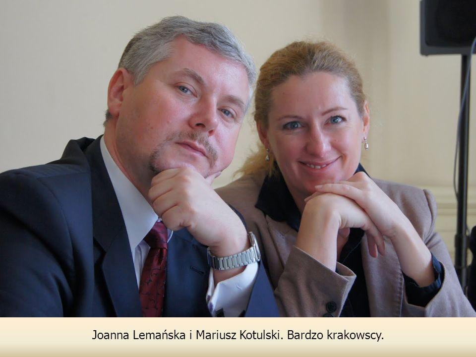 Joanna Lemańska i Mariusz Kotulski. Bardzo krakowscy.