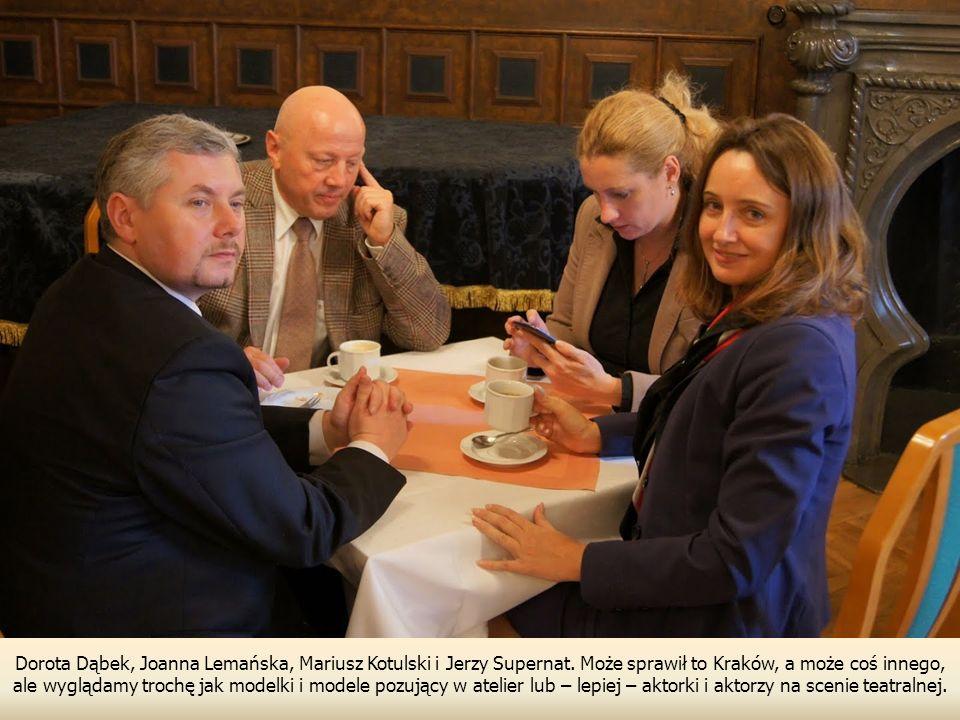Dorota Dąbek, Joanna Lemańska, Mariusz Kotulski i Jerzy Supernat