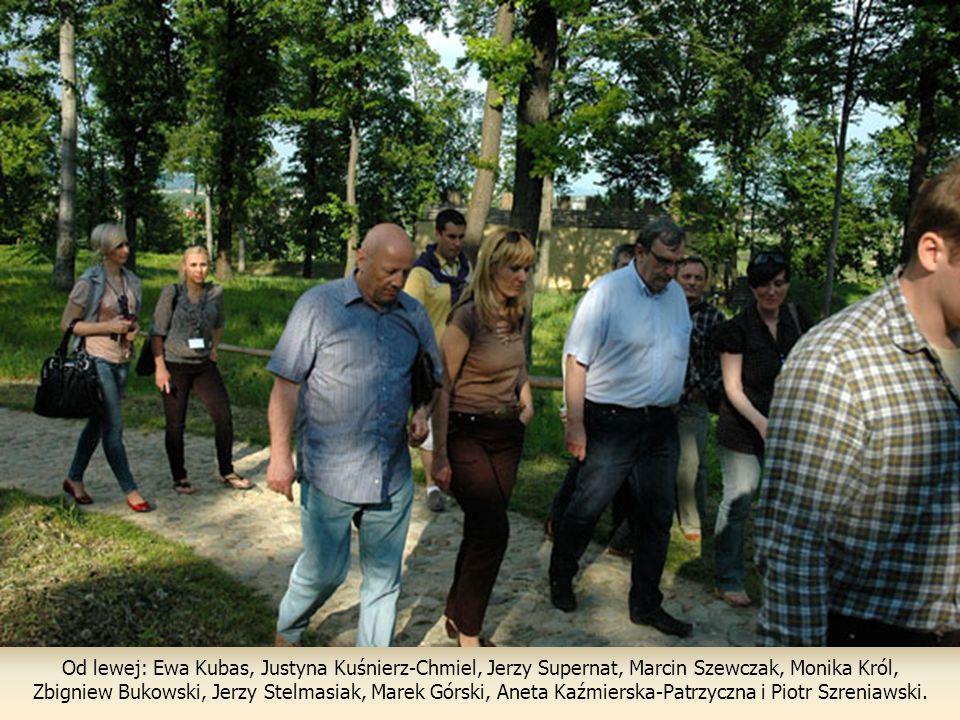 Od lewej: Ewa Kubas, Justyna Kuśnierz-Chmiel, Jerzy Supernat, Marcin Szewczak, Monika Król,