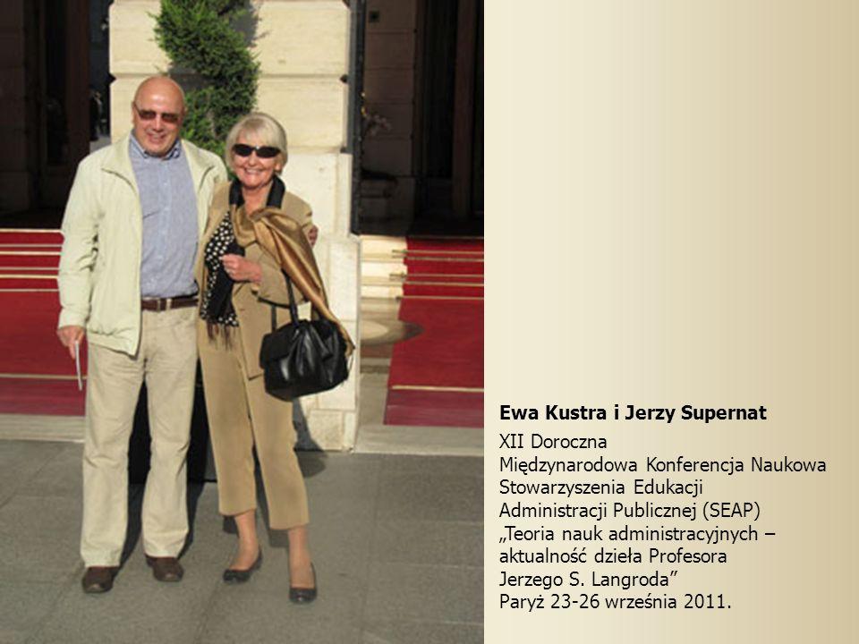 Ewa Kustra i Jerzy Supernat