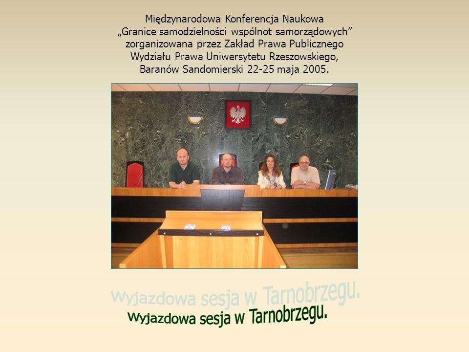 Wyjazdowa sesja w Tarnobrzegu.