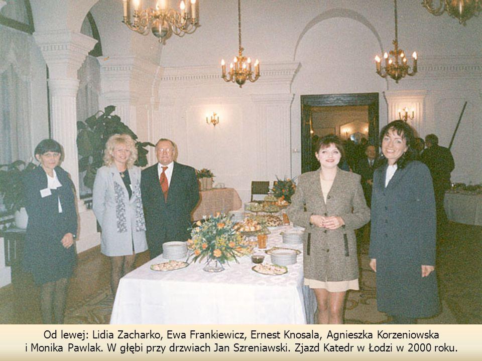 Od lewej: Lidia Zacharko, Ewa Frankiewicz, Ernest Knosala, Agnieszka Korzeniowska