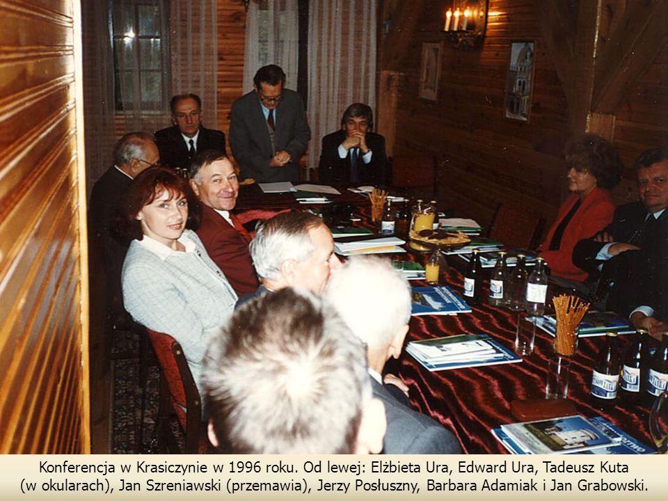 Konferencja w Krasiczynie w 1996 roku