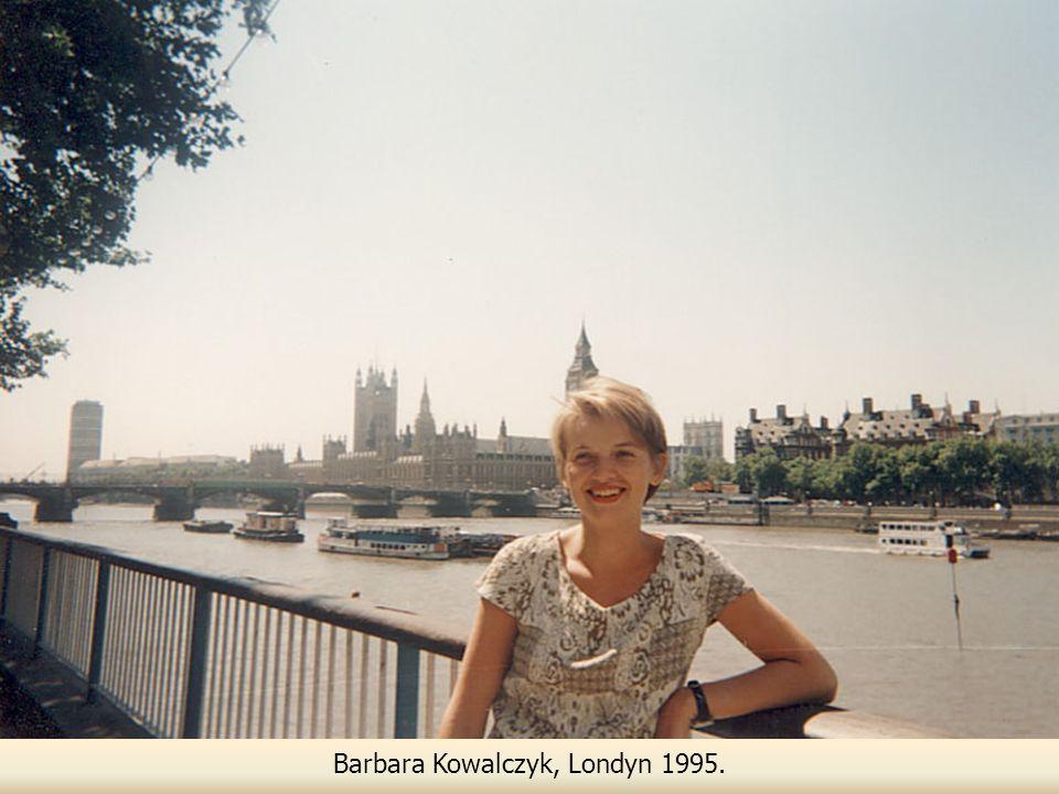 Barbara Kowalczyk, Londyn 1995.