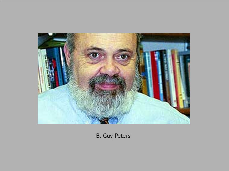 B. Guy Peters