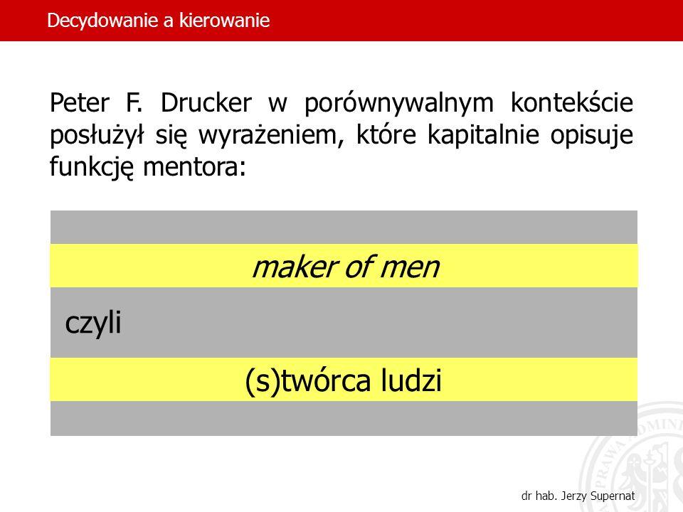 maker of men czyli (s)twórca ludzi